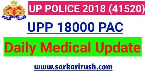 UPP 18000 PAC Medical LIST
