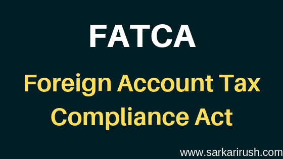 FATCA Full form
