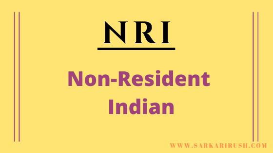 Full form of NRI