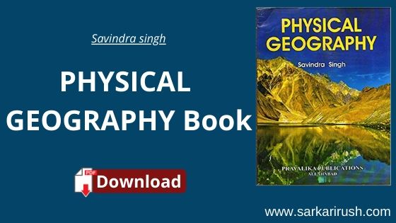 Physical geography by savindra singh pdf