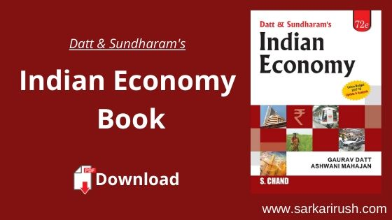 Dutt and sundaram indian economy pdf