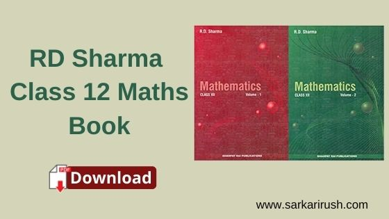 rd sharma class 12 maths book pdf download
