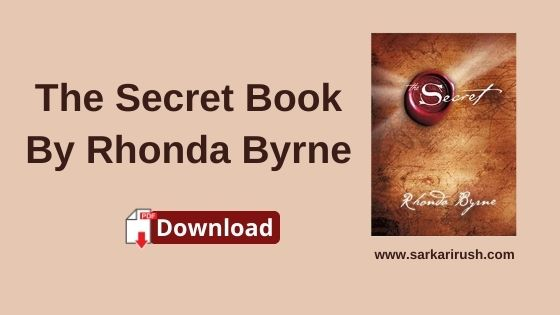 the secret book pdf